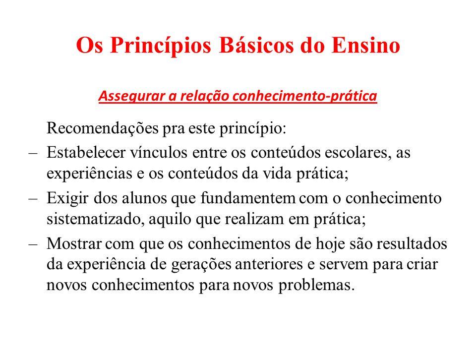 Classificação dos Métodos de Ensino: EX.