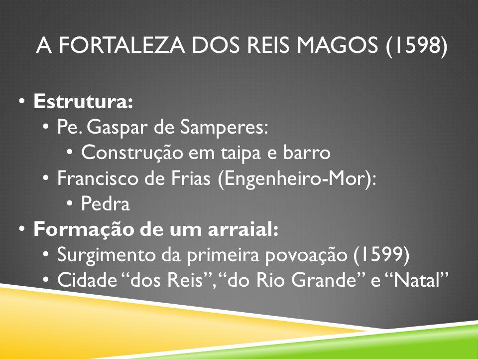 A FORTALEZA DOS REIS MAGOS (1598) Estrutura: Pe.