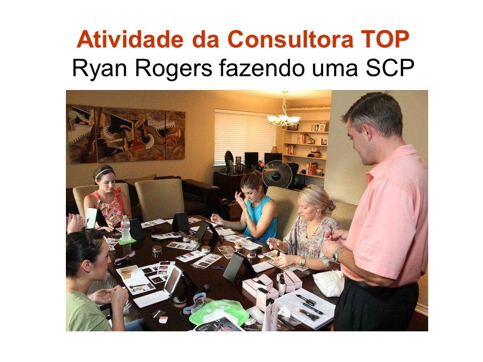 Atividade da Consultora TOP Ryan Rogers fazendo uma SCP Atividade Ideal
