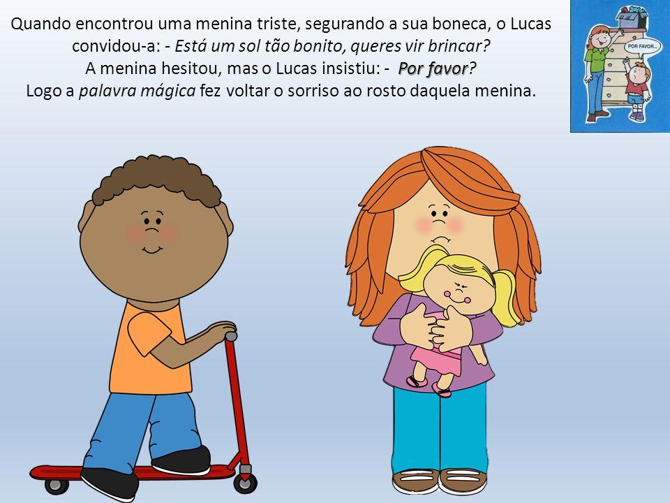 Créditos PRÉ História inspirada em: http://sementinhasparacriancas.blogspot.pt/2009/04/o- mundo-que-nao-conhecia-as-palavras.html http://sementinhasparacriancas.blogspot.pt/2009/04/o- mundo-que-nao-conhecia-as-palavras.html Imagens: http://aninhablaka.blogspot.pt/2012/02/painel-palavras- magicas.html http://aninhablaka.blogspot.pt/2012/02/painel-palavras- magicas.html Música das palavras mágicas: https://www.youtube.com/watch?v=eXHTlKIsvr4