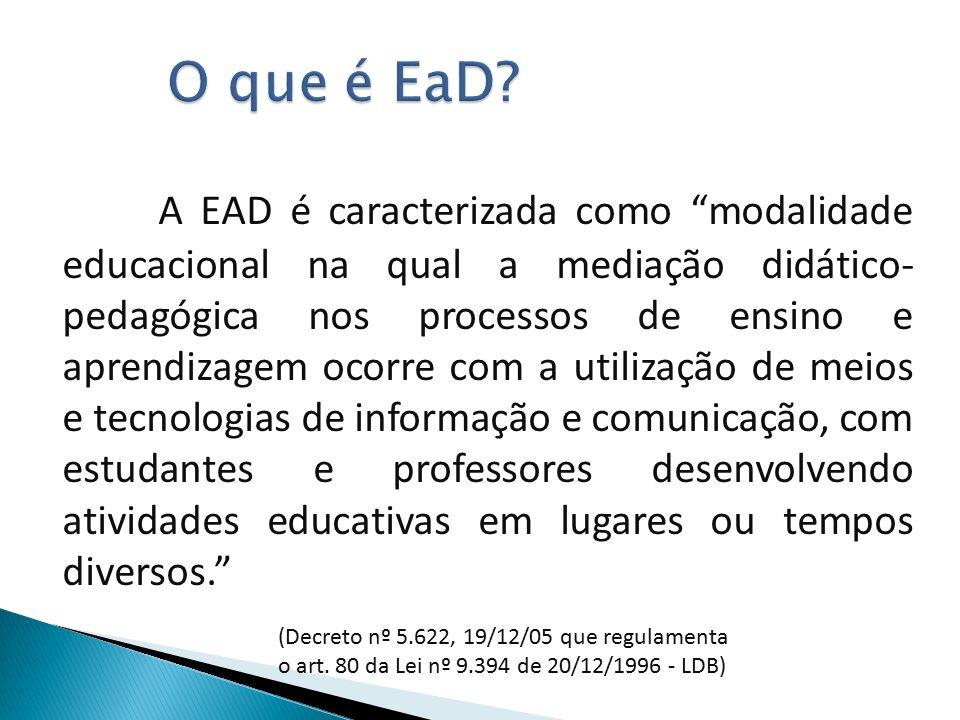 O que é EaD.