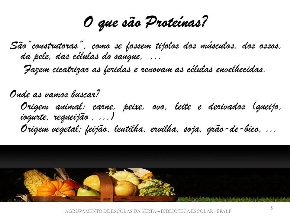 O que são Proteínas.