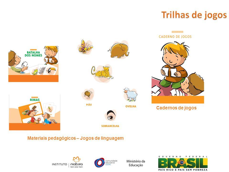 Materiais pedagógicos – Jogos de linguagem Cadernos de jogos