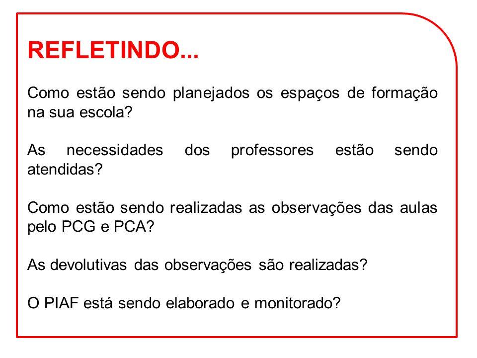Fortalecer a concepção de formação dos Supervisores de Ensino, PCNP, Diretores e PCG.