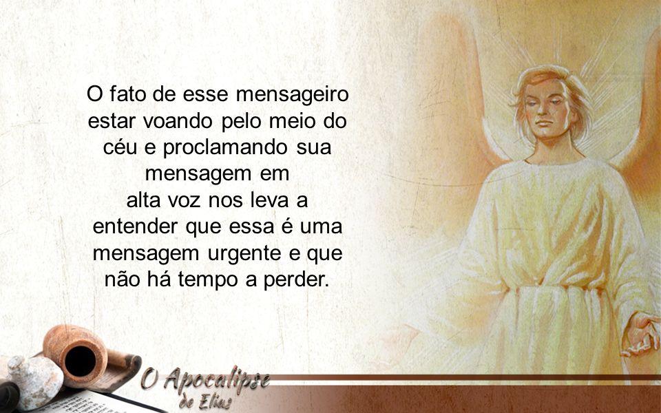 2 Compreendemos então que o mensageiro de Apocalipse 14:6, 7 tem uma mensagem especial relacionada com a guarda dos mandamentos de Deus e com o cuidado do corpo (saúde).