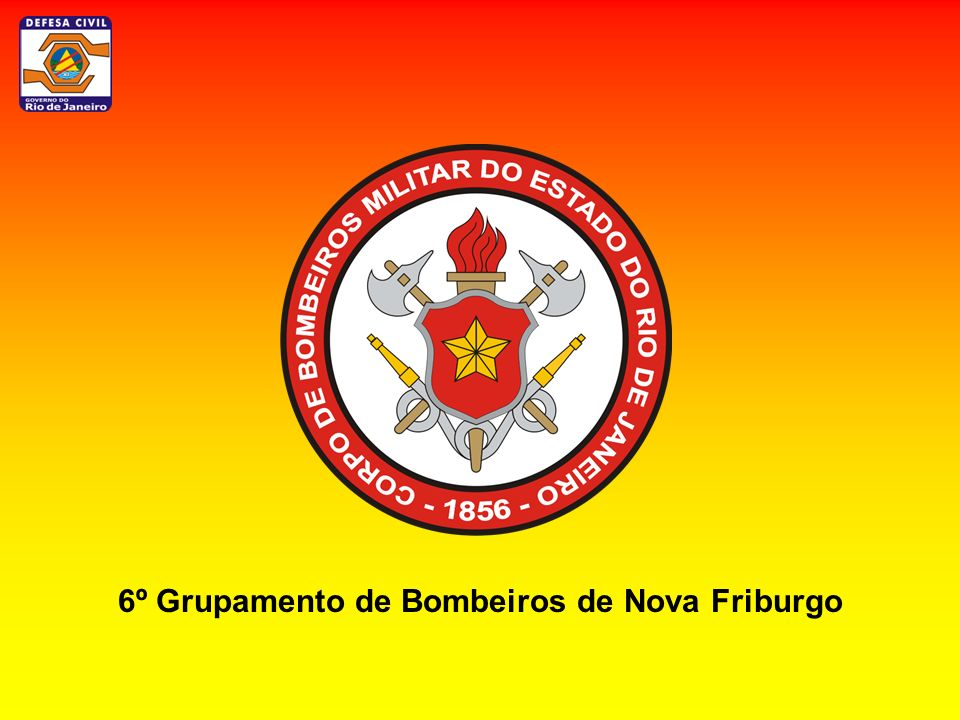 6º Grupamento de Bombeiros de Nova Friburgo