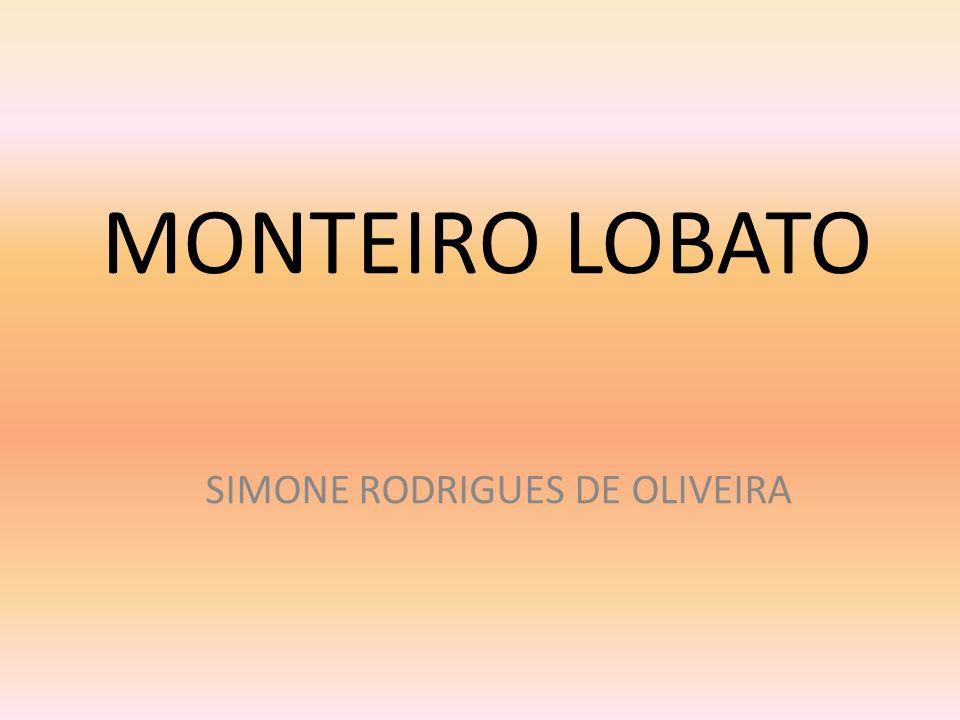 MONTEIRO LOBATO SIMONE RODRIGUES DE OLIVEIRA