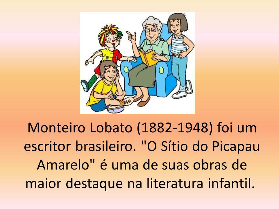 Monteiro Lobato (1882-1948) foi um escritor brasileiro.