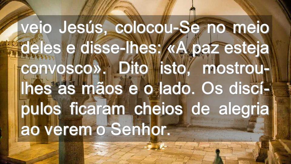 Vistas a partir do Cenáculo Não vivamos encerrados; o mundo necessita da nossa experiência PASCAL Jesus no-la dá para que a partilhemos
