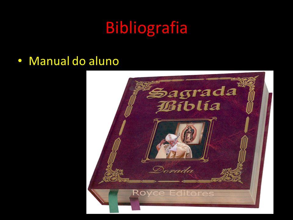 Bibliografia Manual do aluno