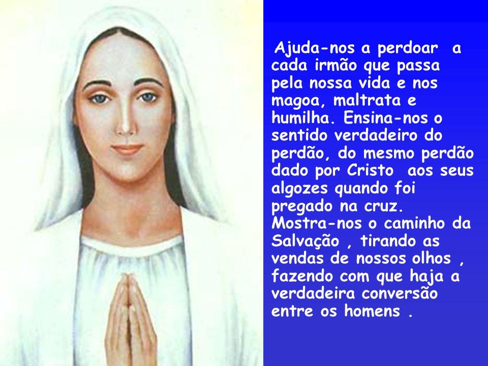 Virgem Imaculada, que assim foi preparada para ser nossa Mãe amada.