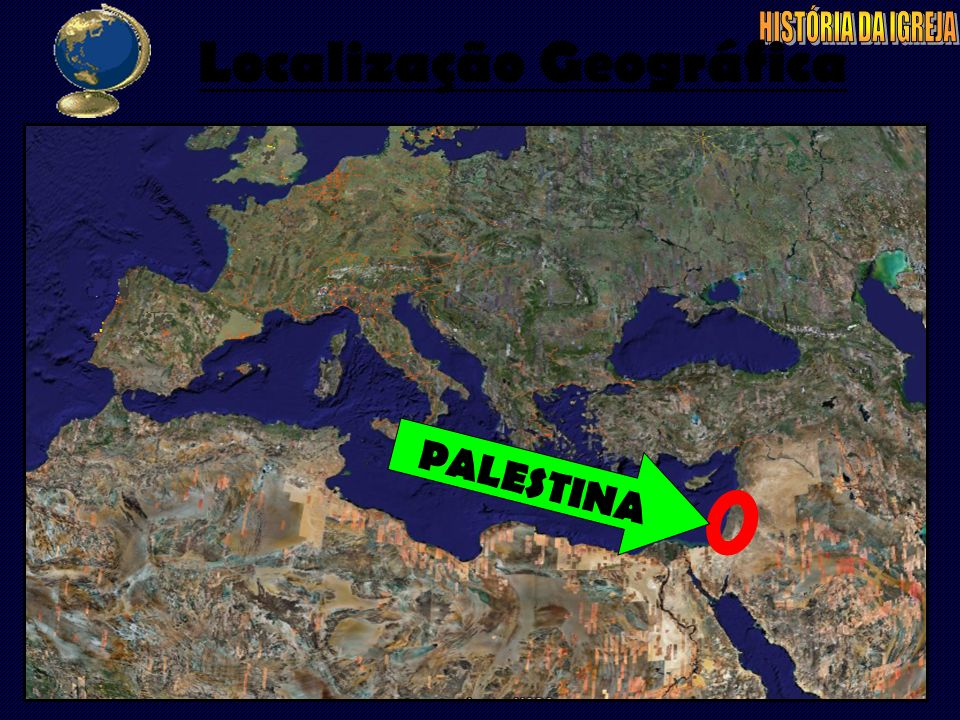 Localização Geográfica PALESTINA