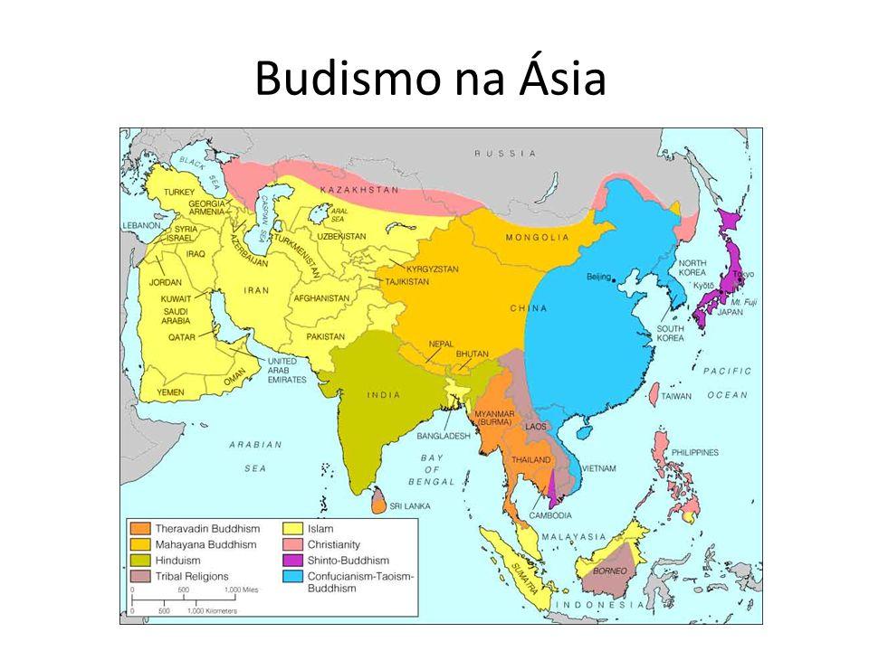 Budismo na Ásia
