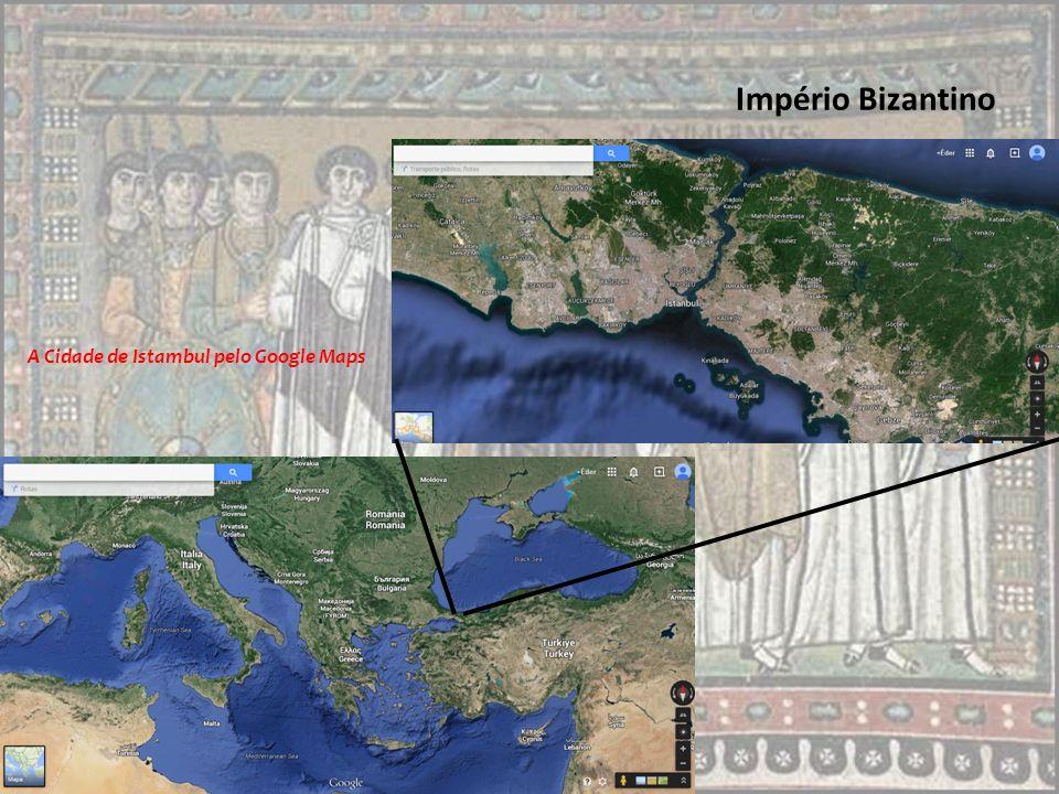 O Império Romano do Oriente Constantinopla estava em uma rota comercial importante, que trazia à Europa os caros produtos do Oriente: a seda e as especiarias.