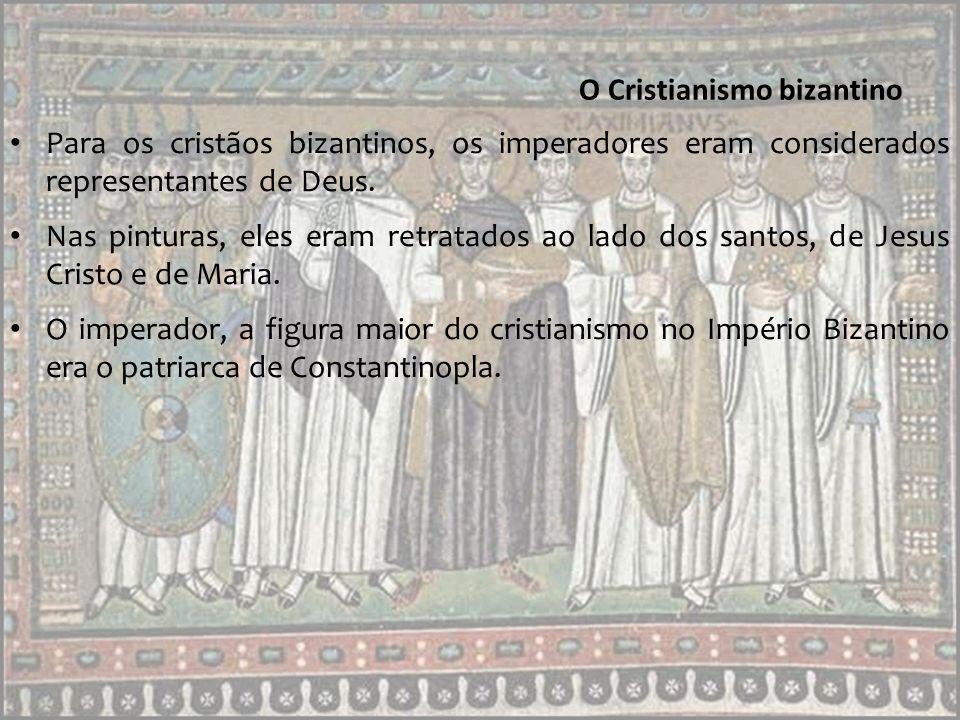 O imperador Justiniano Um dos imperadores mais importantes do Império Bizantino foi Justiniano.