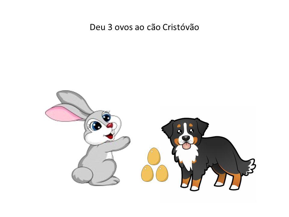 Deu 3 ovos ao cão Cristóvão