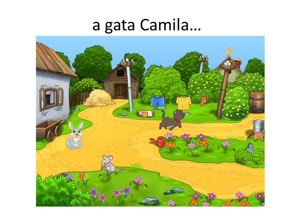 a gata Camila…