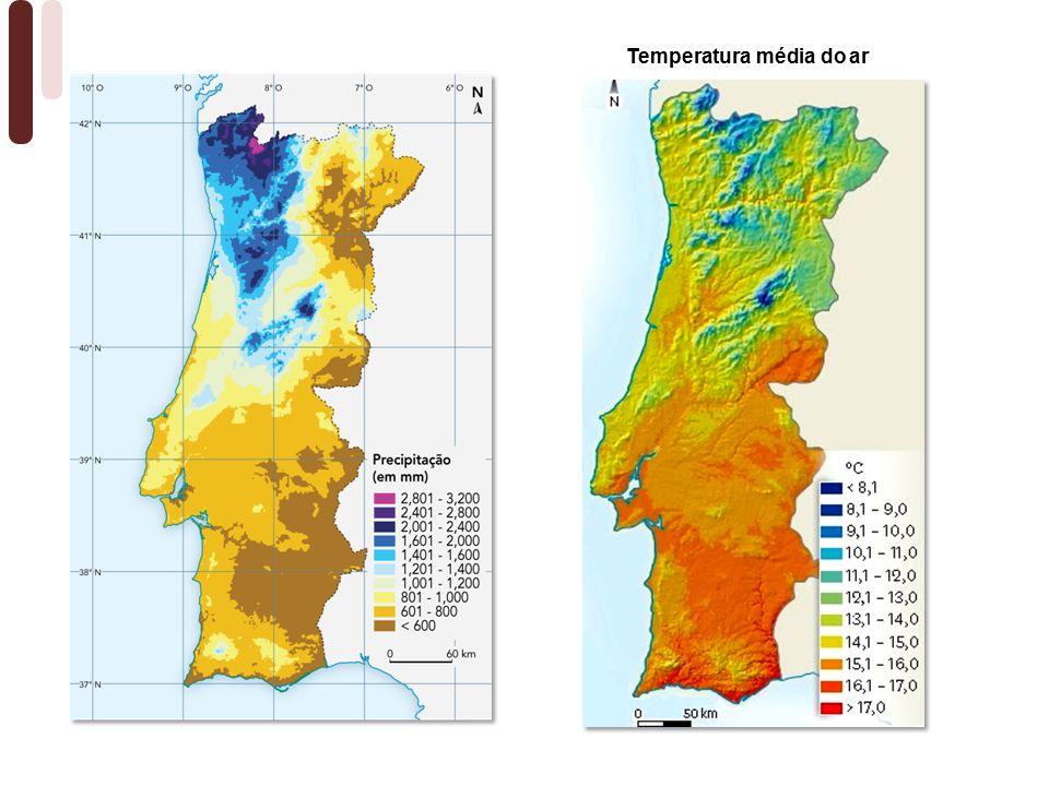 Temperatura média do ar