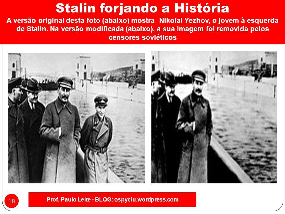 Prof. Paulo Leite - BLOG: ospyciu.wordpress.com 17