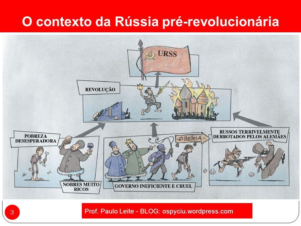 Revolução Russa 2 Prof. Paulo Leite - BLOG: ospyciu.wordpress.com
