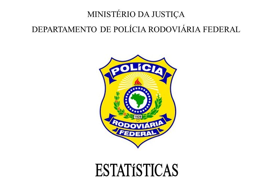 MINISTÉRIO DA JUSTIÇA DEPARTAMENTO DE POLÍCIA RODOVIÁRIA FEDERAL