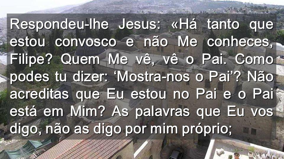 Pela Fé vemos na Criação a obra de Jesus e do Pai; não precisamos nada mais A Palavra de Deus é a LUZ de cada amanhecer