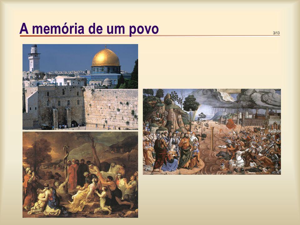 4/13 O quadro histórico dos livros da Sagrada Escritura