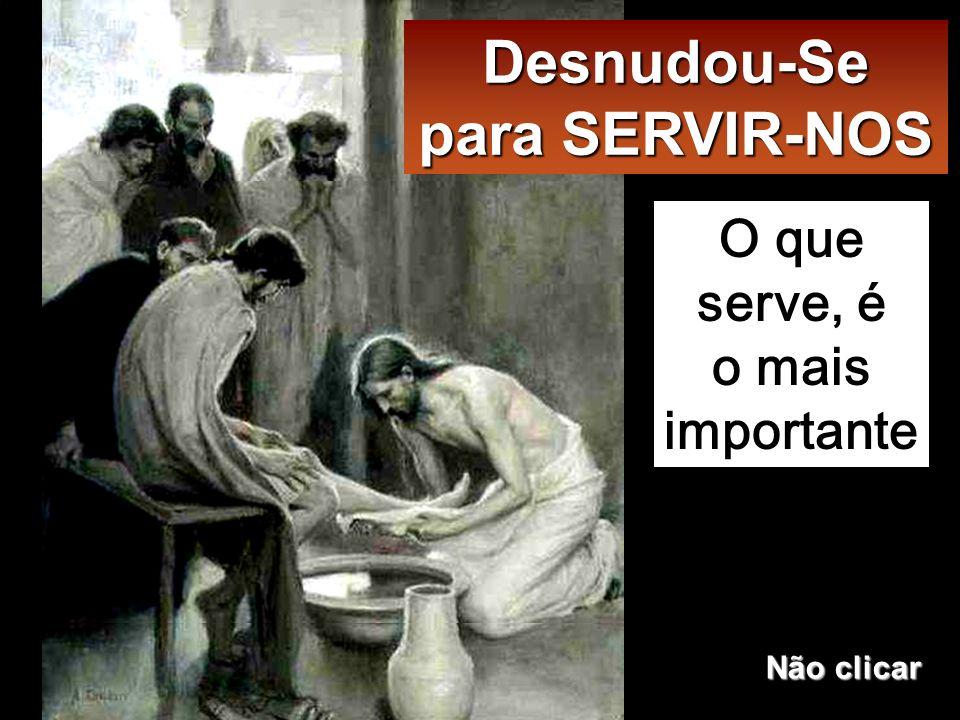 Quando chegou a Simão Pe- dro, este disse-Lhe:«Senhor, Tu vais lavar-me os pés » Jesus respondeu-lhe: «O que estou a fazer, não o podes entender agora, mas compre- endê-lo-ás mais tarde».