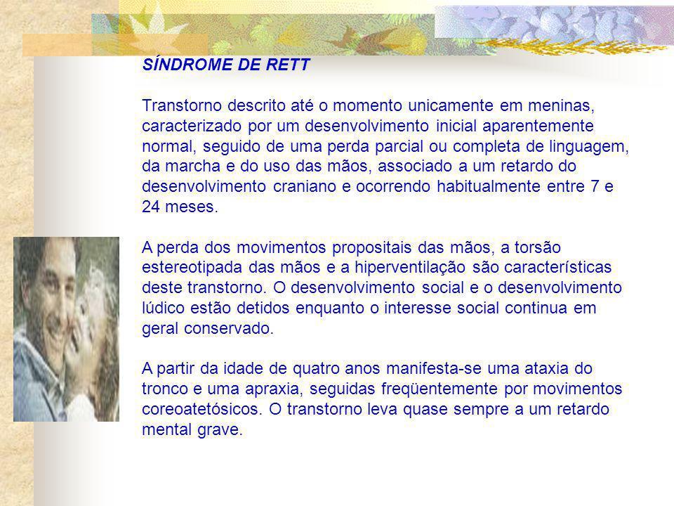 Psicose Infantil A psicose infantil é um transtorno de personalidade dependente do transtorno da organização do eu e da relação da criança com o meio ambiente.