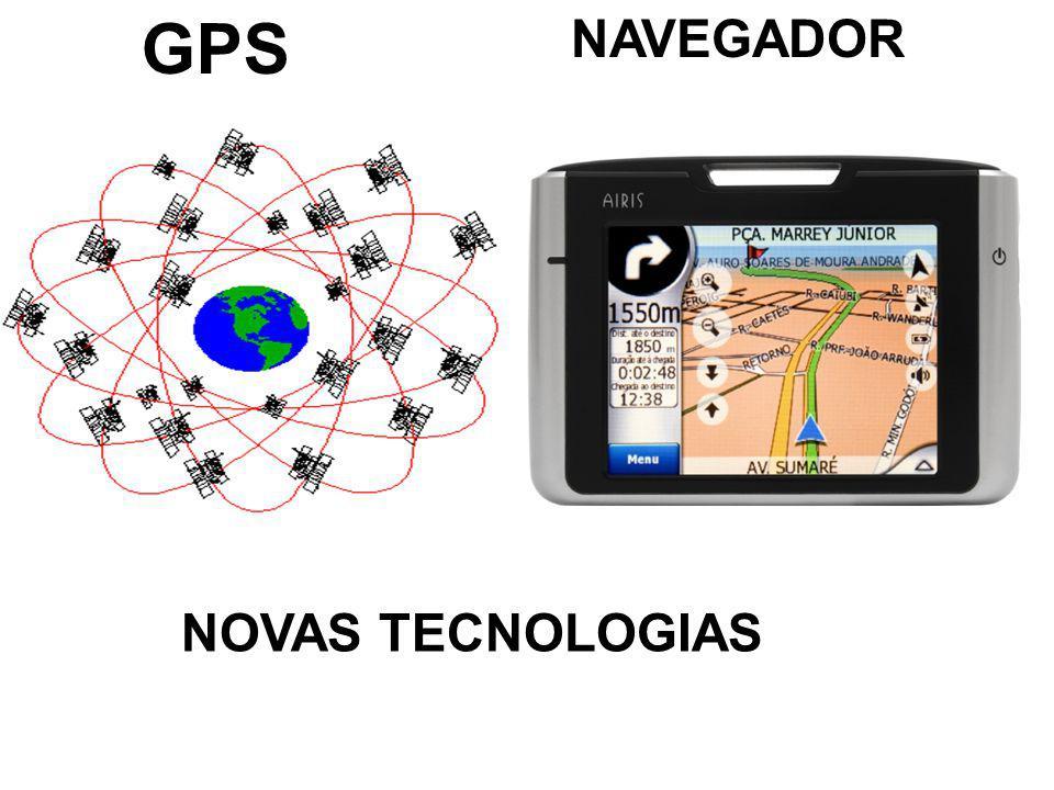 GPS NAVEGADOR NOVAS TECNOLOGIAS
