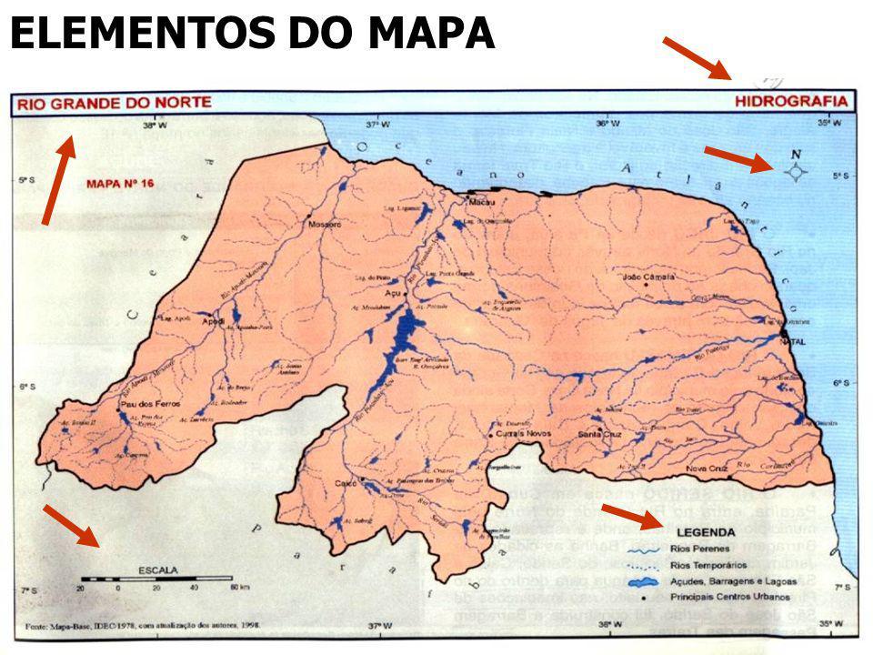 ELEMENTOS DO MAPA