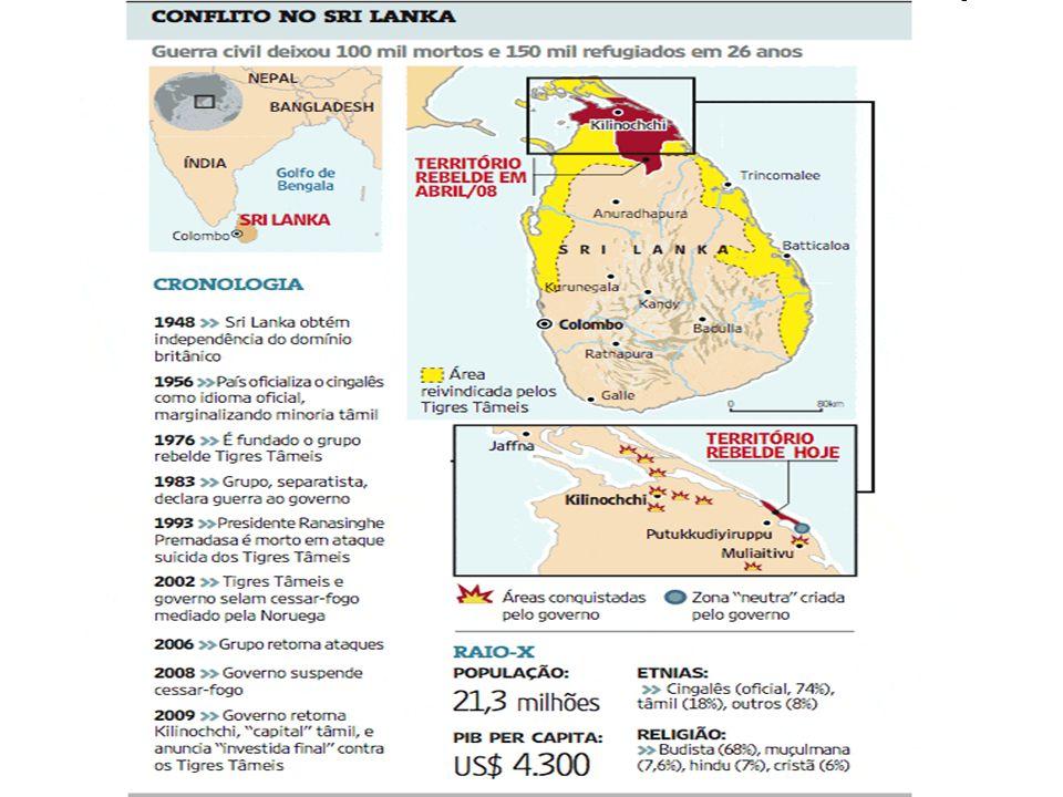 Guerra civil - Sri Lanka