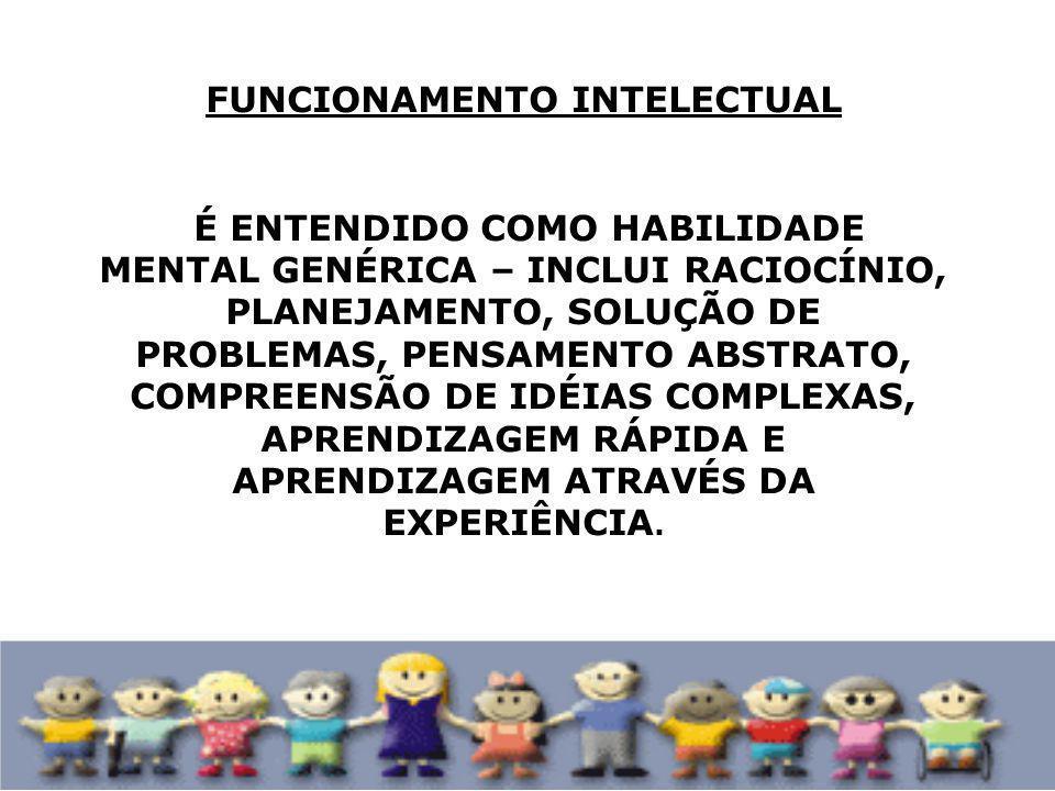 TRANSTORNOS FUNCIONAIS ESPECÍFICOS ESTÁ RELACIONADA A FUNCIONALIDADE ESPECÍFICA (INTRÍNSECA) DO SUJEITO, SEM O COMPROMETIMENTO INTELECTUAL DO MESMO.