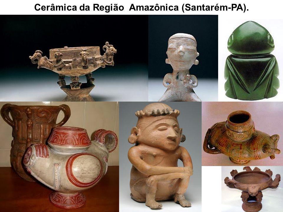 Cerâmica da Região Amazônica (Santarém-PA).