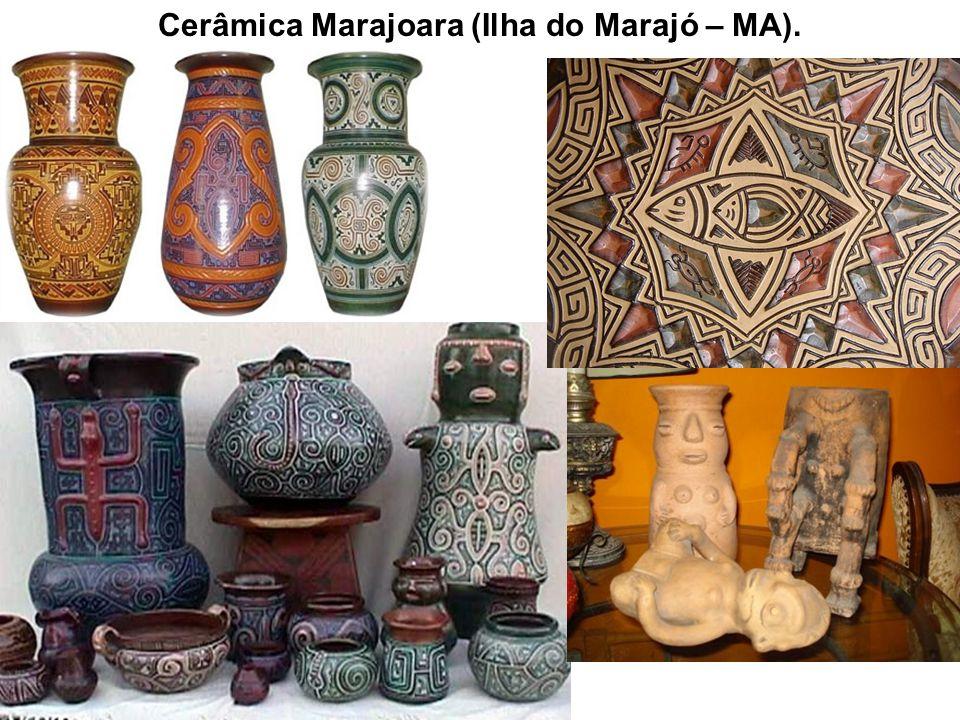 Cerâmica Marajoara (Ilha do Marajó – MA).
