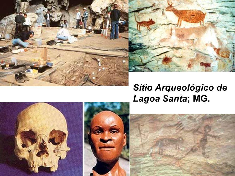 Sítio Arqueológico de Lagoa Santa; MG.