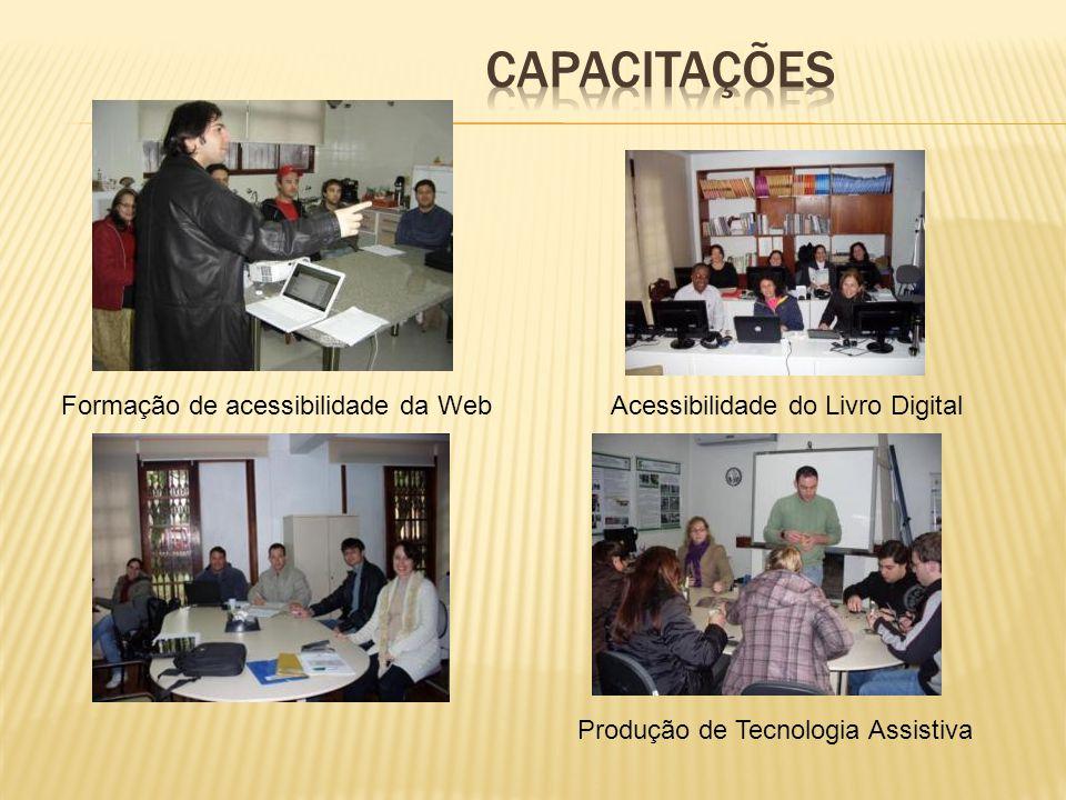 Acessibilidade do Livro DigitalFormação de acessibilidade da Web Produção de Tecnologia Assistiva