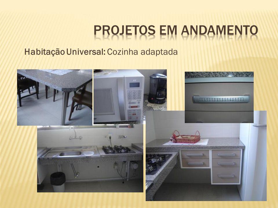 Habitação Universal: Cozinha adaptada