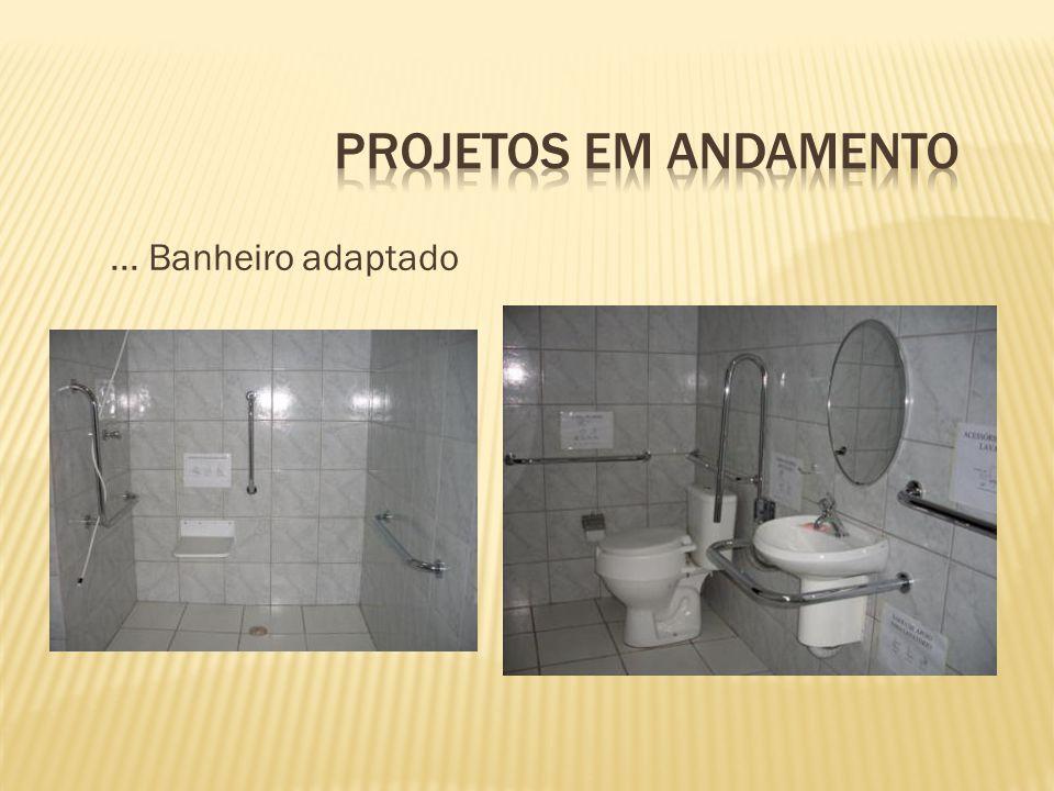 ... Banheiro adaptado