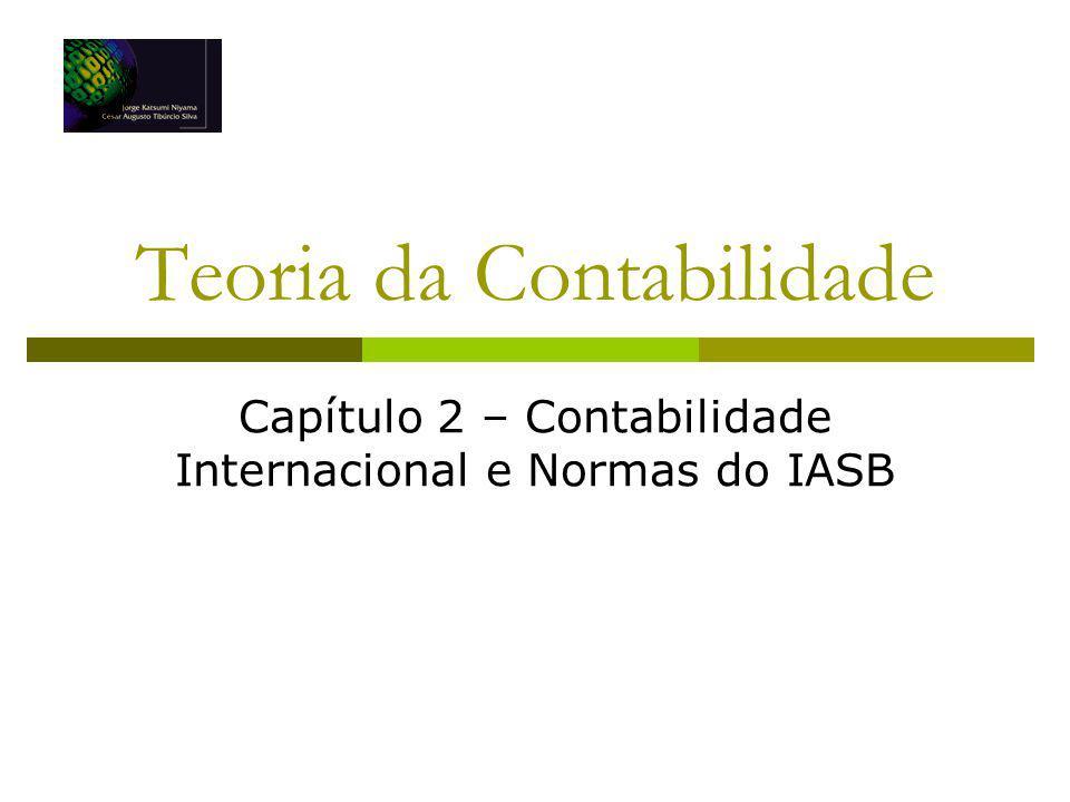 Teoria da Contabilidade Capítulo 2 – Contabilidade Internacional e Normas do IASB