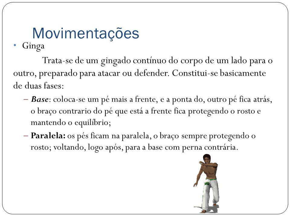 Movimentações Rolê – Movimentação baixa (com as mãos no chão), utilizada quando a intenção é esquivar-se e mudar de posição simultaneamente.