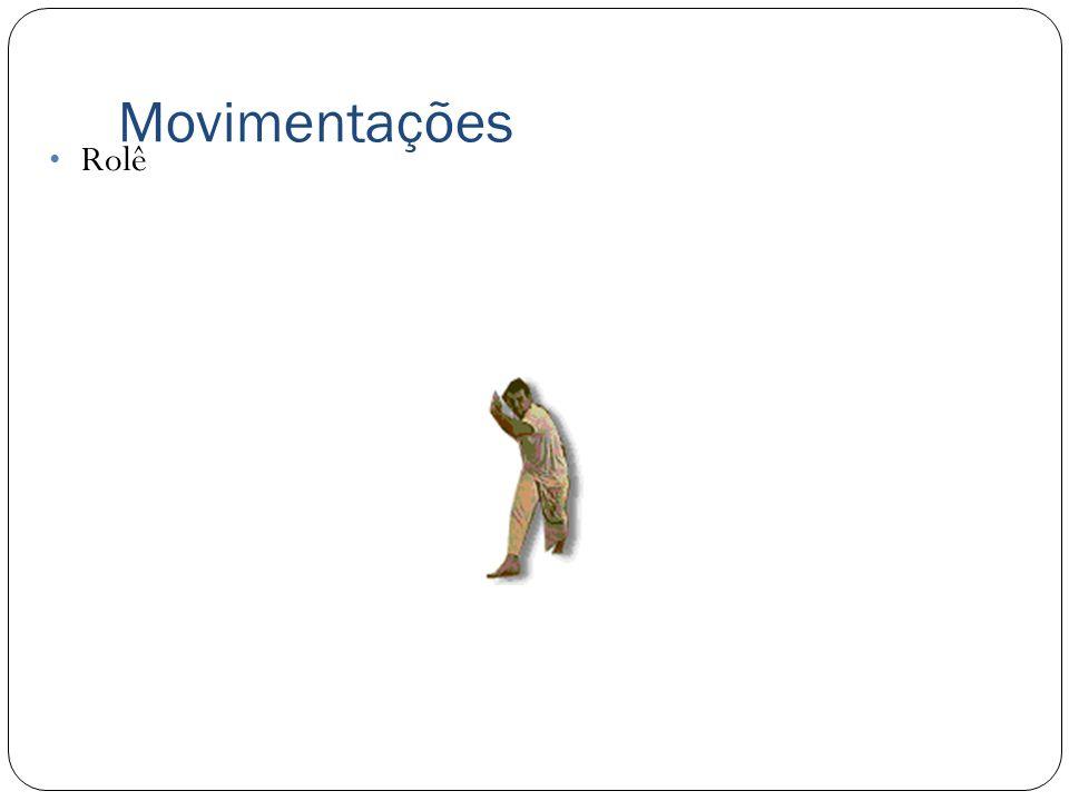 Movimentações Troca de base Movimentação rápida, que visa confundir o oponete.