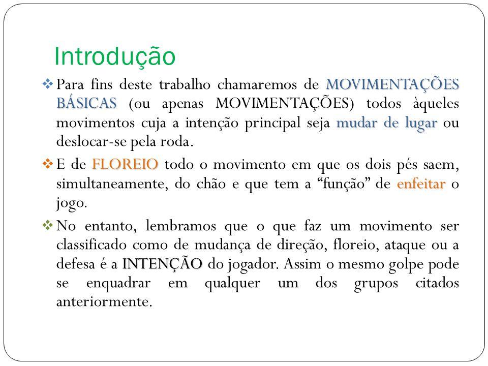 Introdução MOVIMENTAÇÕES BÁSICAS mudar de lugar Para fins deste trabalho chamaremos de MOVIMENTAÇÕES BÁSICAS (ou apenas MOVIMENTAÇÕES) todos àqueles m