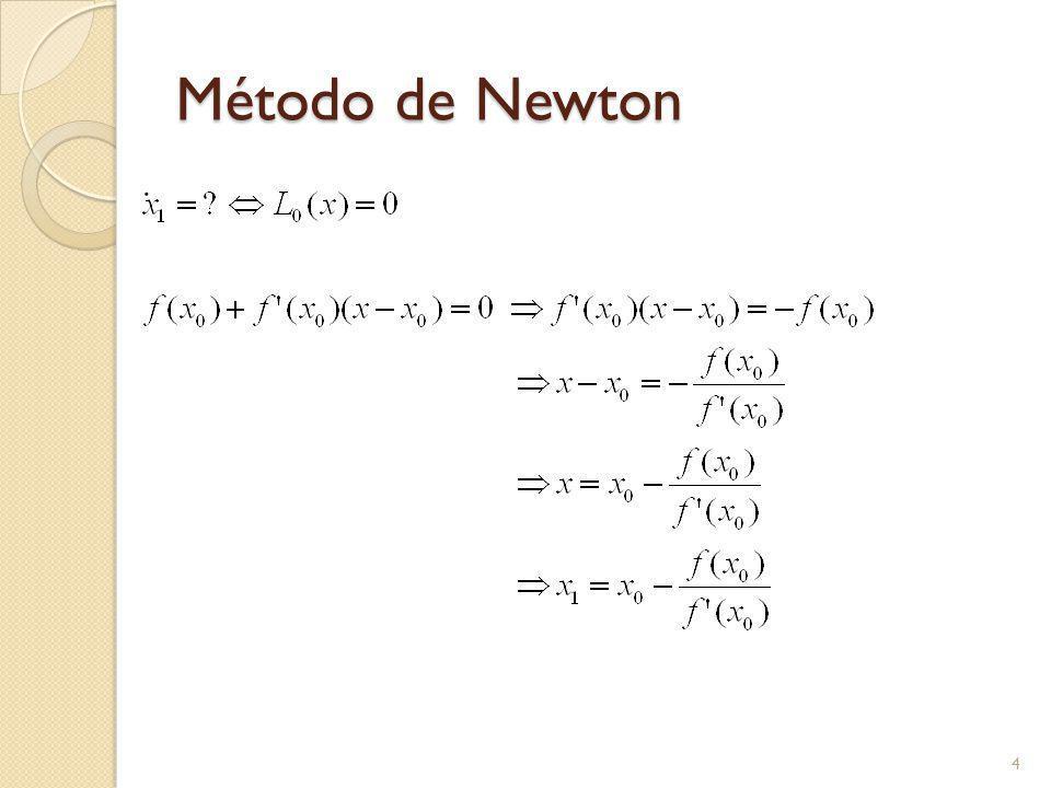 Método de Newton. 4