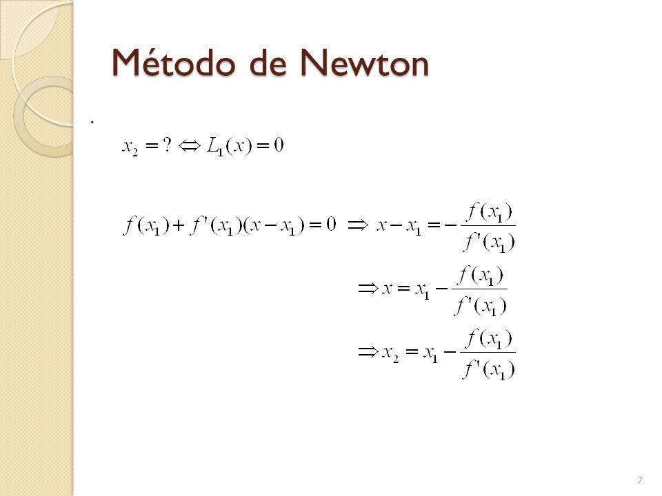 Método de Newton. 7