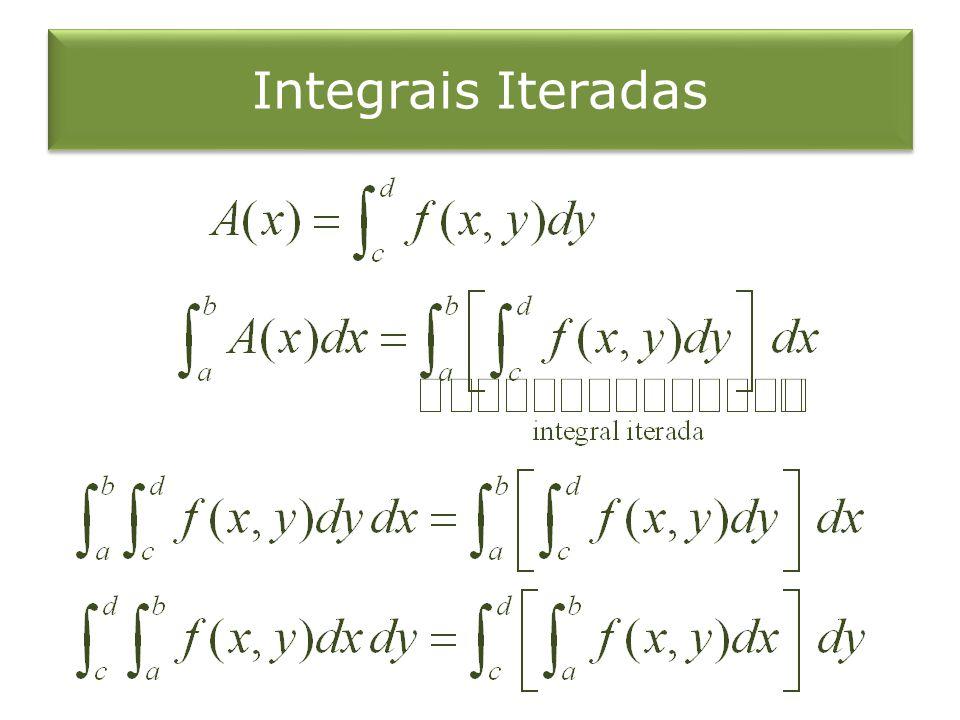 Integrais Iteradas