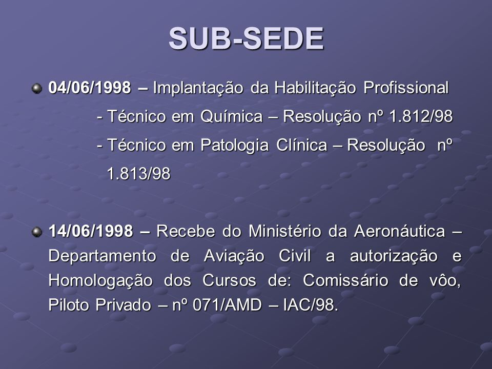 2003 APROVAÇÃO DO PDI ADMINISTRAÇÃOENFERMAGEMFISIOTERAPIAFARMÁCIA