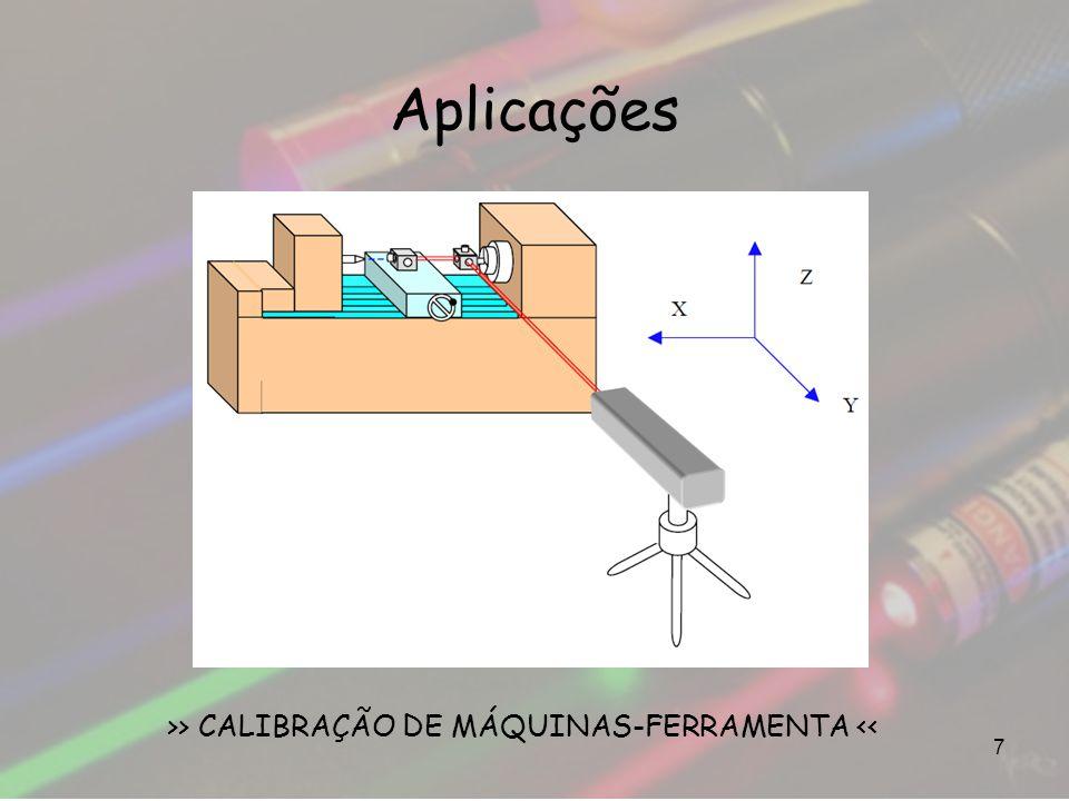 Aplicações 7 >> CALIBRAÇÃO DE MÁQUINAS-FERRAMENTA <<