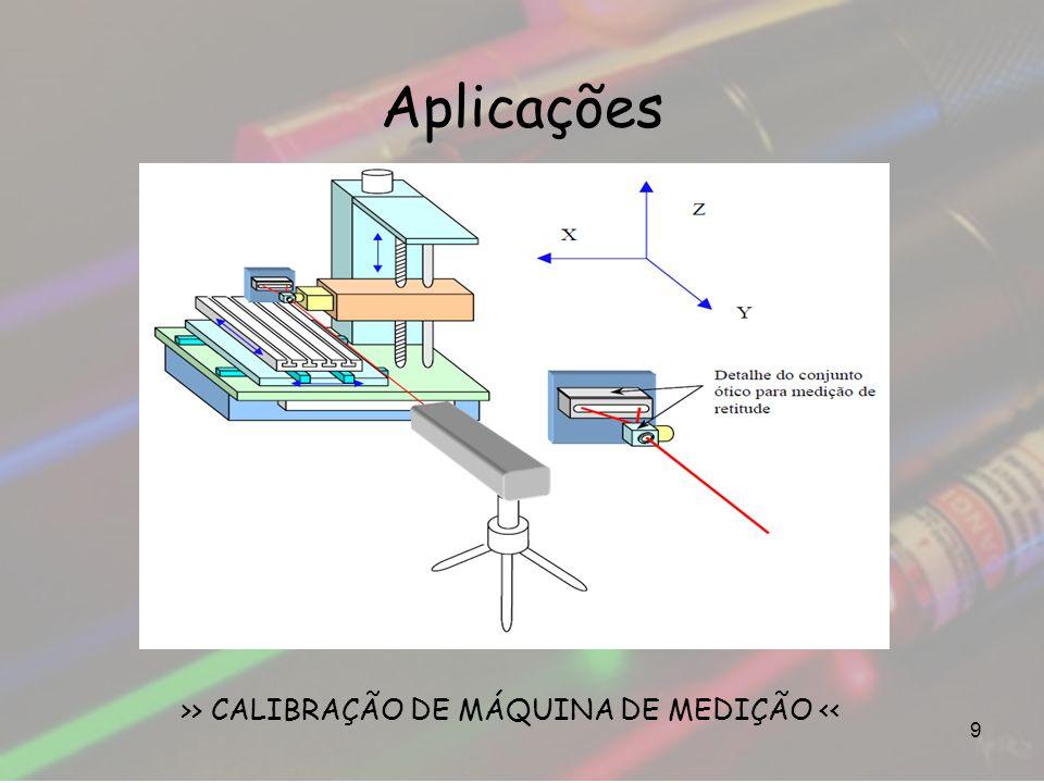 Aplicações 9 >> CALIBRAÇÃO DE MÁQUINA DE MEDIÇÃO <<