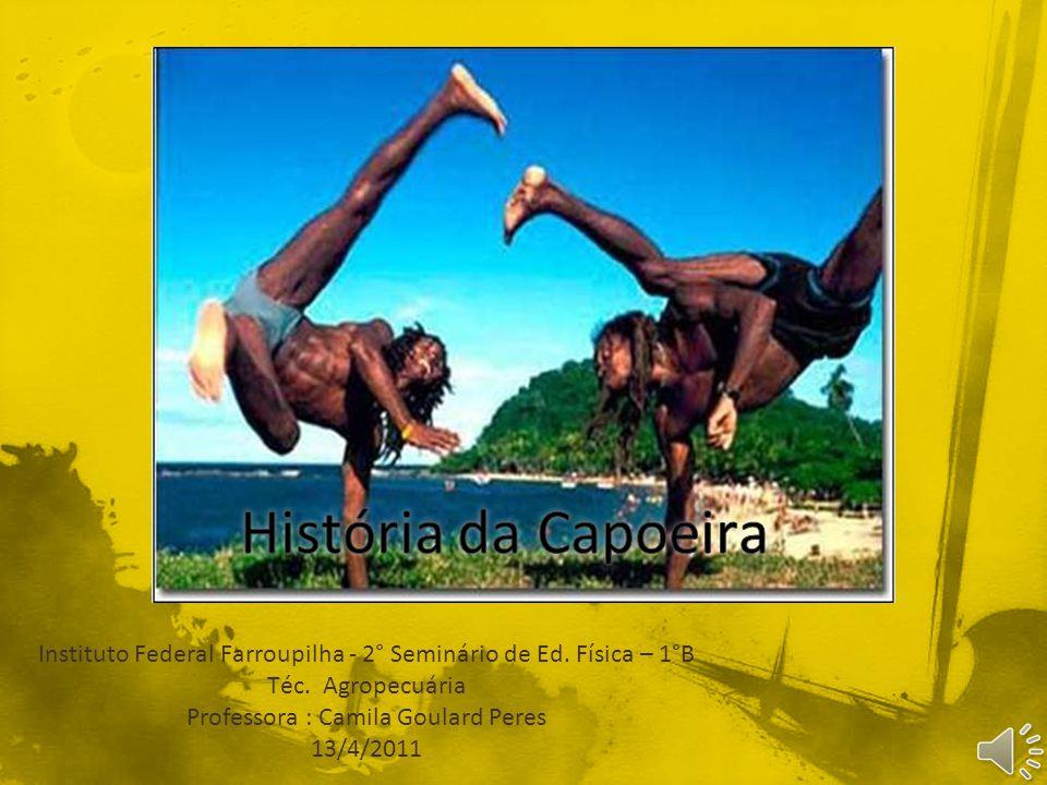 A capoeira foi criada por negros no anseio de sua liberdade.